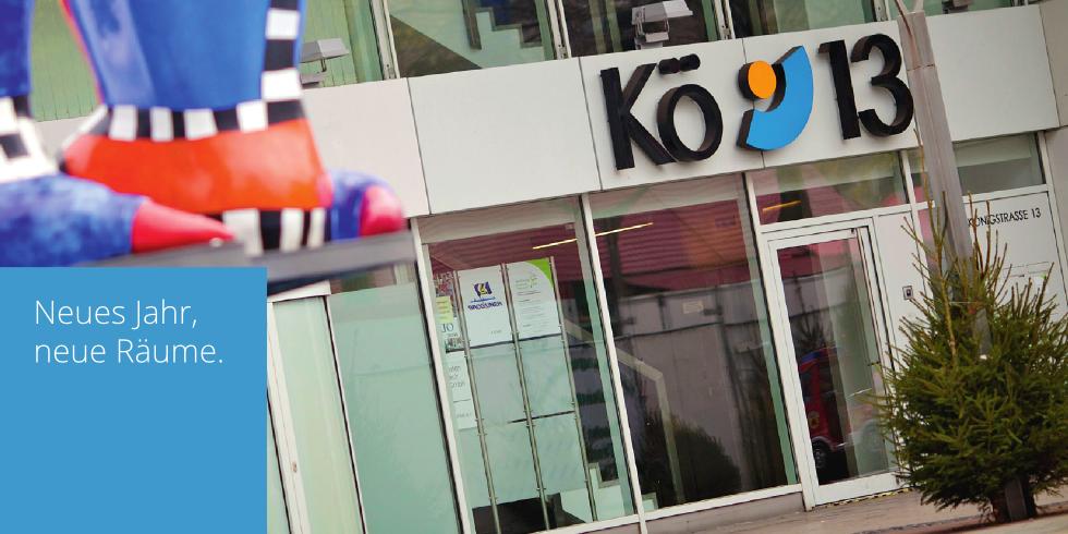 Unsere neue Adresse: Königstraße 13, 3. Etage, 47051 Duisburg